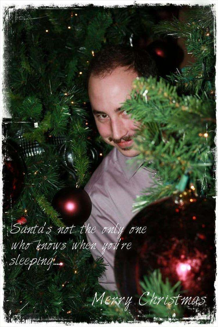 Making My Own Christmas Cards This Year. Nailed It