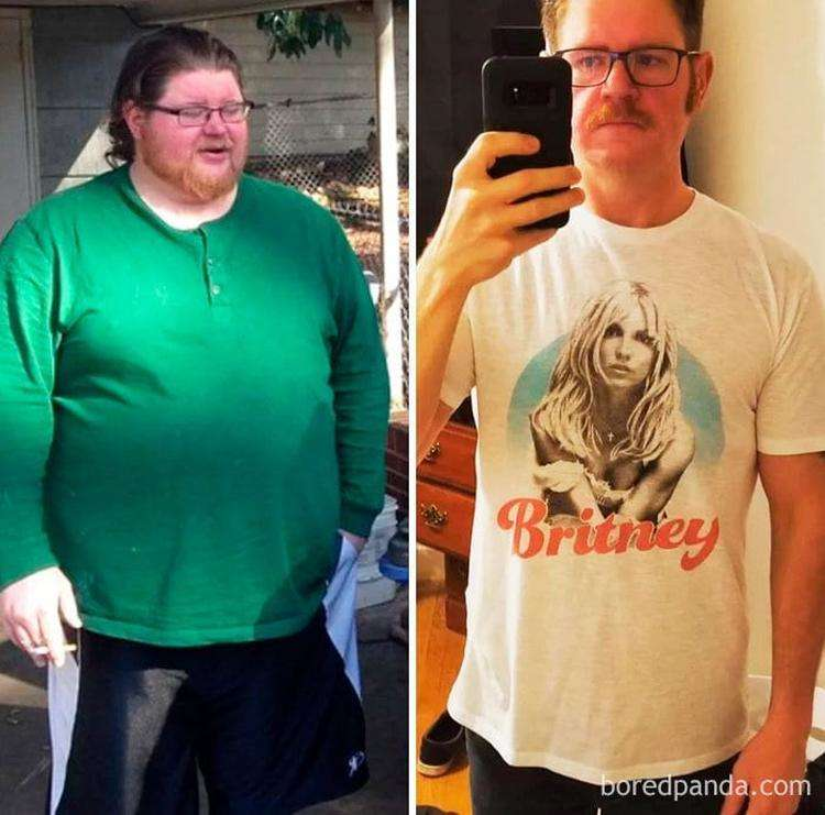 Lost 170 Lbs In 18 Months. Sobriety, Diet, And Exercise Have Paid Off